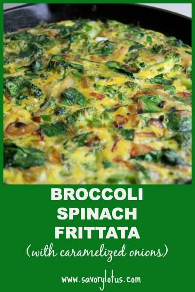 Broccoli-Spinach-Frittata-with-caramelized-onions-savorylotus.com_