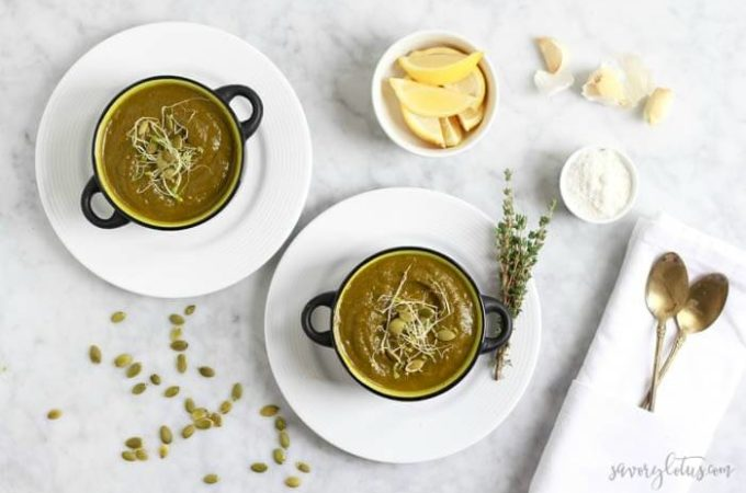 The Ultimate Green Soup
