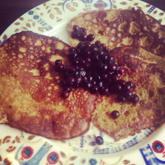 Pumpkin Pancakes (Gluten/grain free, Paleo, GAPS)
