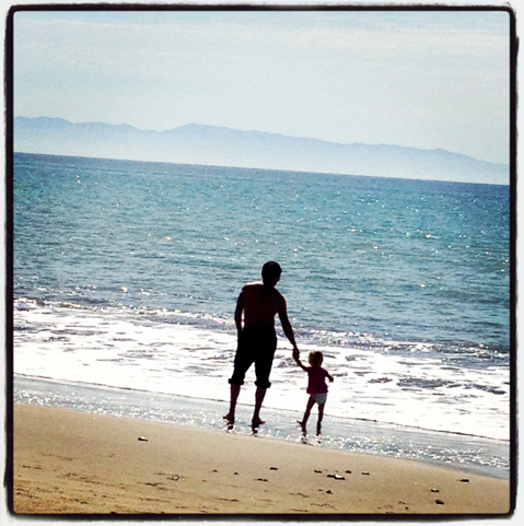 Family time at the beach.....