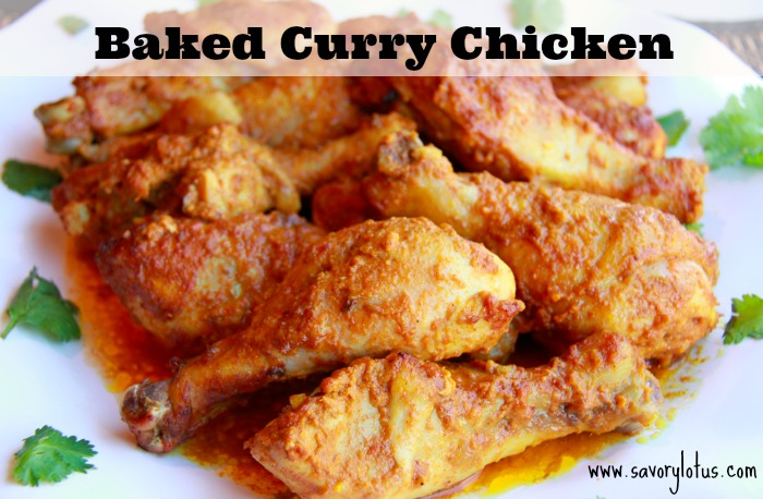 Baked Curry Chicken -