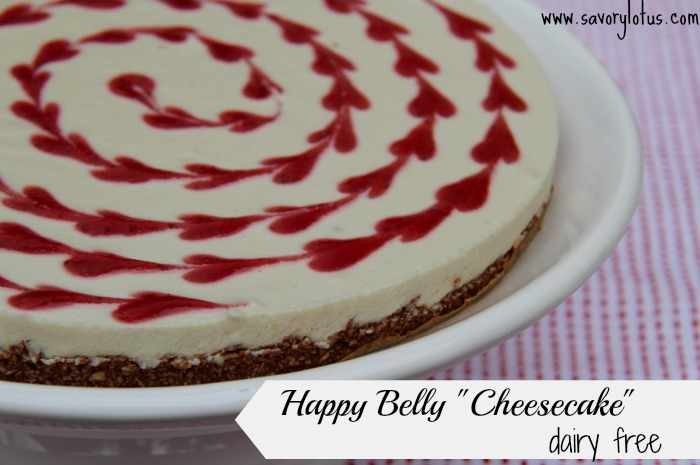 """Happy Belly """"Cheesecake"""" (dairy free)"""