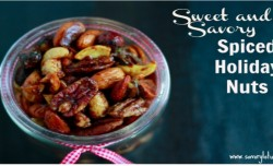 Sweet and Savory Spiced Nuts - savorylotus.com