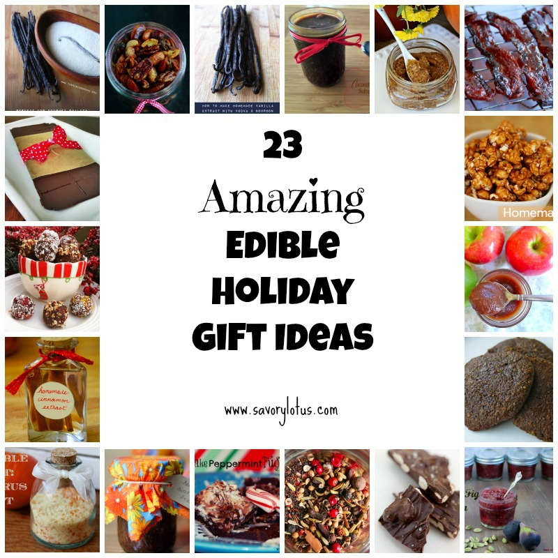 23 Amazing Edible Holiday Gifts Ideas