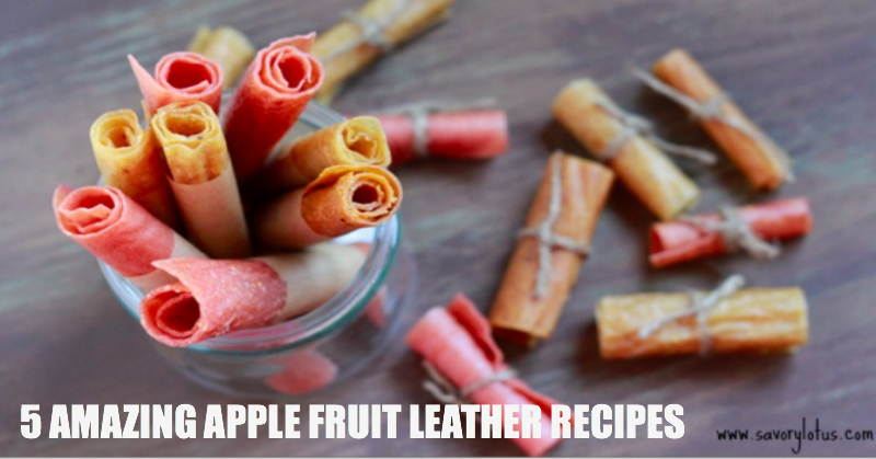 5 Amazing Apple Fruit Leather Recipes