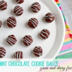 Peppermint Chocolate Cookie Balls