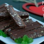 Peppermint Chocolate Mini Bars