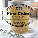 Fire Cider: DIY Cold and Flu Remedy