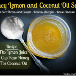 Honey, Lemon, and Coconut Oils Syrup