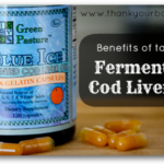 The  Benefits of Taking  Fermented Cod Liver Oil