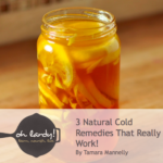 3 Natural Cold Remedies That Really Work