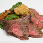Spiced Ginger Steak with Cauliflower