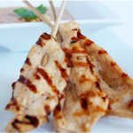 Spicy Grilled Chicken Satay