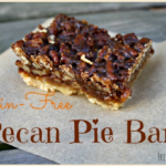 Grain Free Pecan Pie Bars