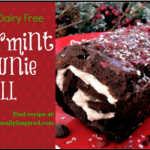 Peppermint Brownie Roll
