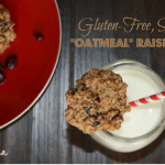 """Oatmeal"" Raisin Cookies"