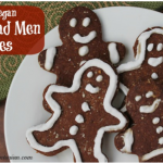 Paleo and Vegan Gingerbread Men Cookies