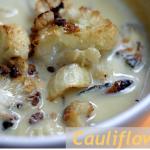 Paleo Vegan Roasted Cauliflower Soup