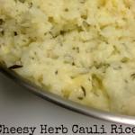Cheesy Herb Cauli-Rice