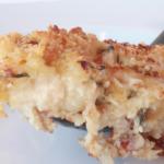 Bacon-Sage Cauliflower Au Gratin
