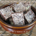 Dairy Free Chocolate Coco-Nutty Fudge