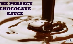 The Perfect Chocolate Sauce savorylotus.com