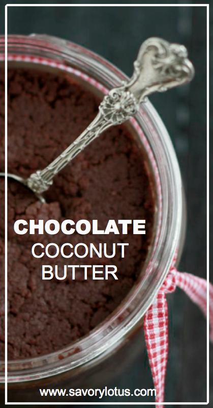 Chocolate Coconut Butter - savorylotus.com.001