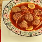 Paleo Italian Meatball Soup