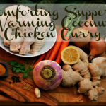 Warming Coconut Chciken Curry Soup