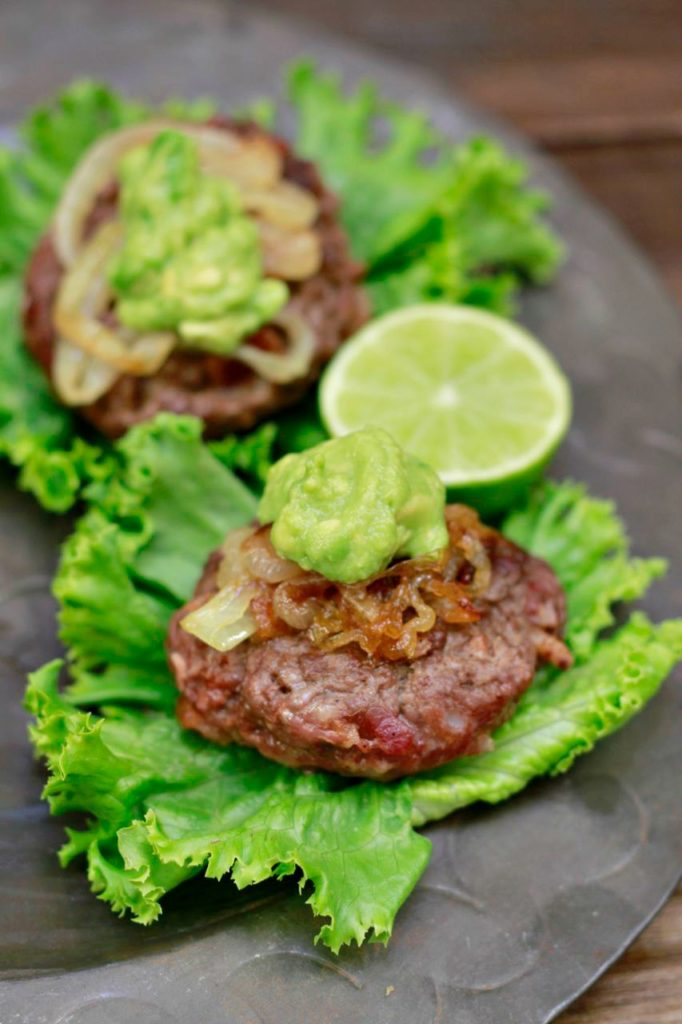 Chipotle Bacon Sliders (gluten and grain free) ~~ savorylotus.com