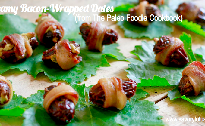 Creamy Bacon-Wrapped Dates and a Giveaway