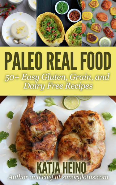 Get my Paleo Real Food eBook!