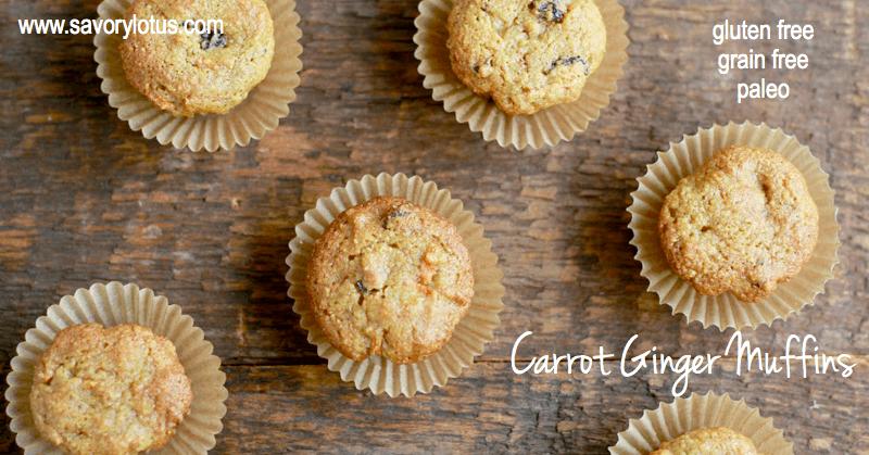 Carrot-Ginger-Muffins-gluten-free-grain-free-paleo-savorylotus.com