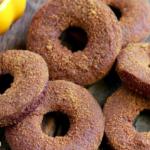 pumpkin, donuts, grain free donuts, paleo donuts, pumpkin