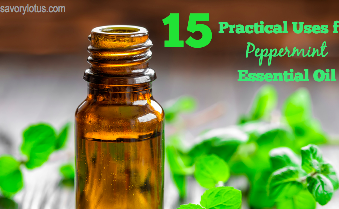 15 Practical Uses for Peppermint Essential Oil