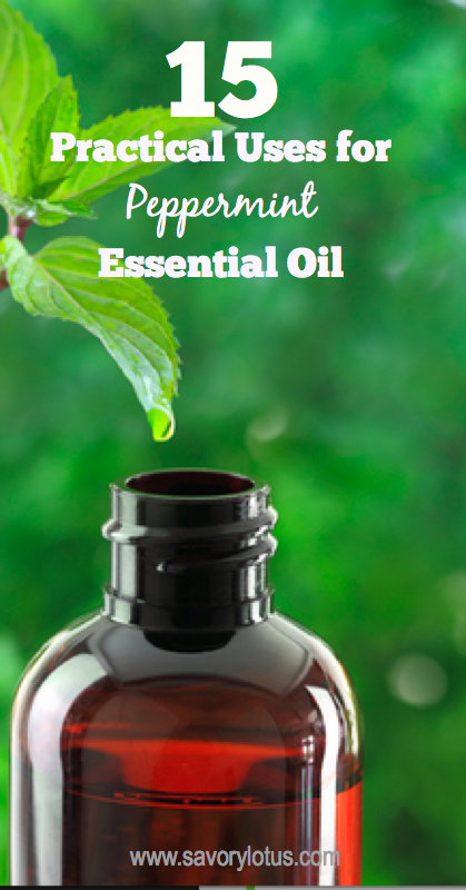 practical uses, essential oils, peppermint oil