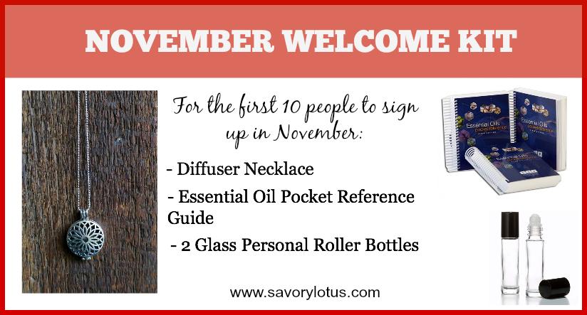 November Welcome Kit