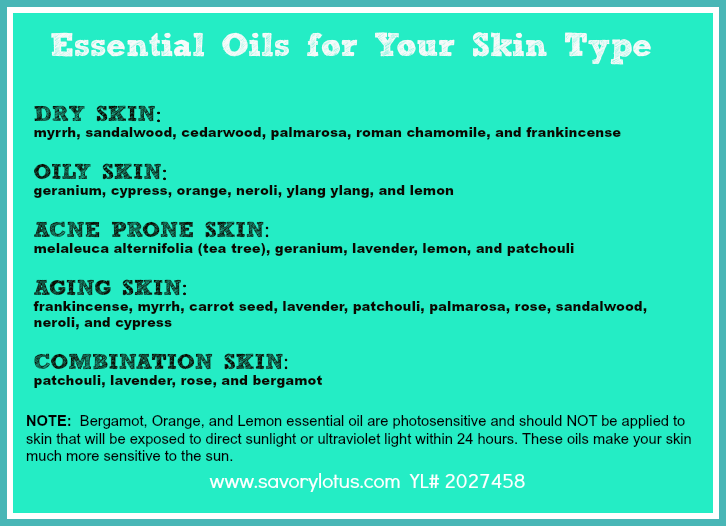Acne Prone Skin Essential Oils