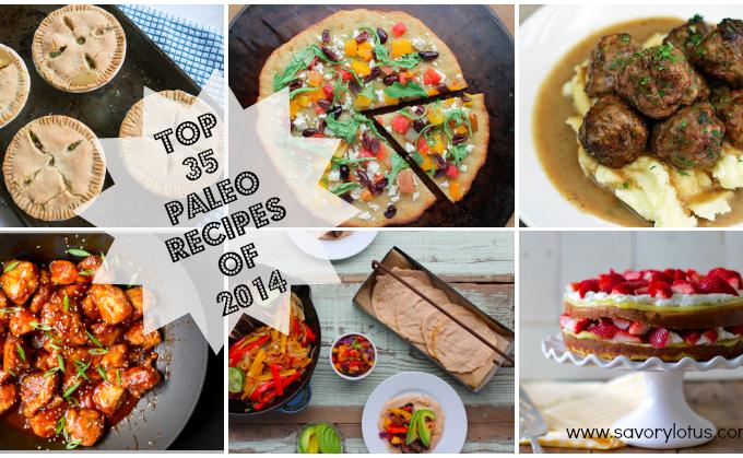 Top 35 Paleo Recipes of 2014