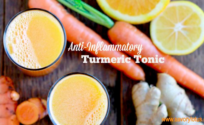 Anti-inflammatory Turmeric Tonic  www.savorylotus.com.001
