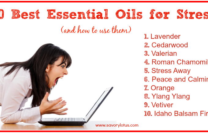 10 Best Essential Oils for Stress