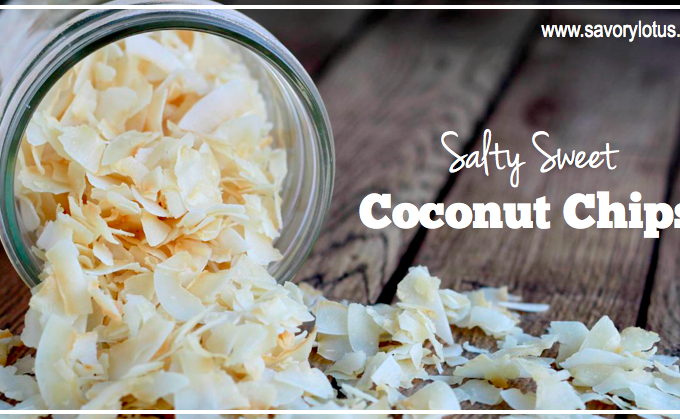 Salty Sweet Coconut Chips