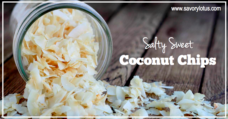 coconut chips, coconut