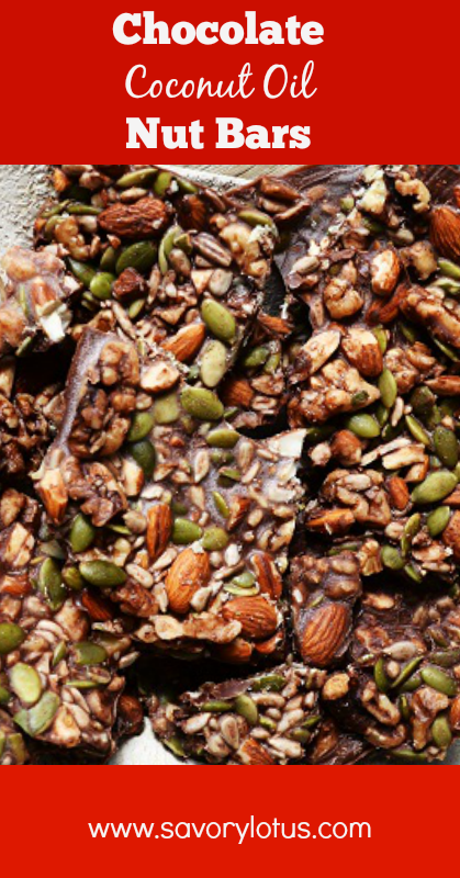 coconut oil, nut bars, homemade bars, chocolate