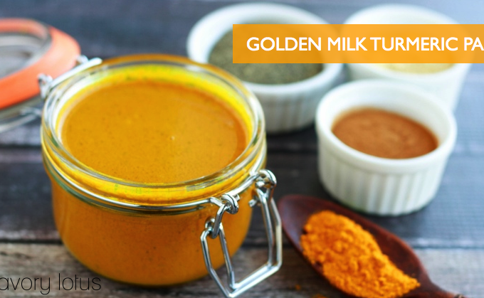 Golden Milk Turmeric Paste