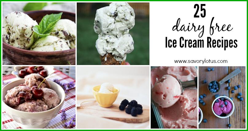 dairy free ice cream, paleo