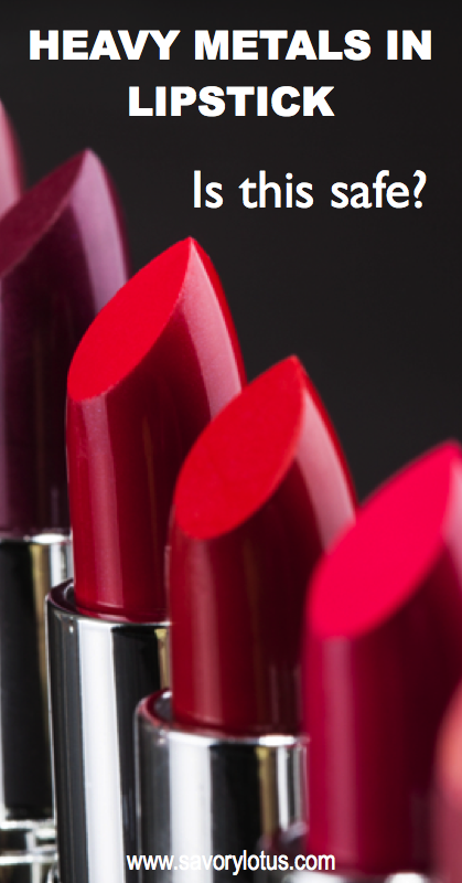 heavy metals, lead, lipstick, non-toxic lipstick