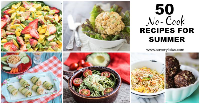 no-cook recipes. paleo. summer recipes
