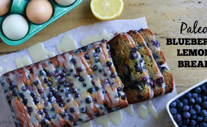 Paleo Blueberry Lemon Bread