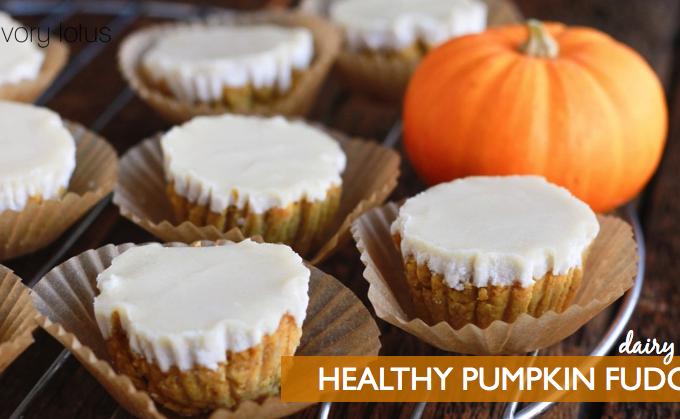 Healthy Pumpkin Fudge